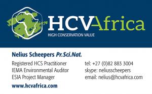 HCV Africa - Nelius Scheepers